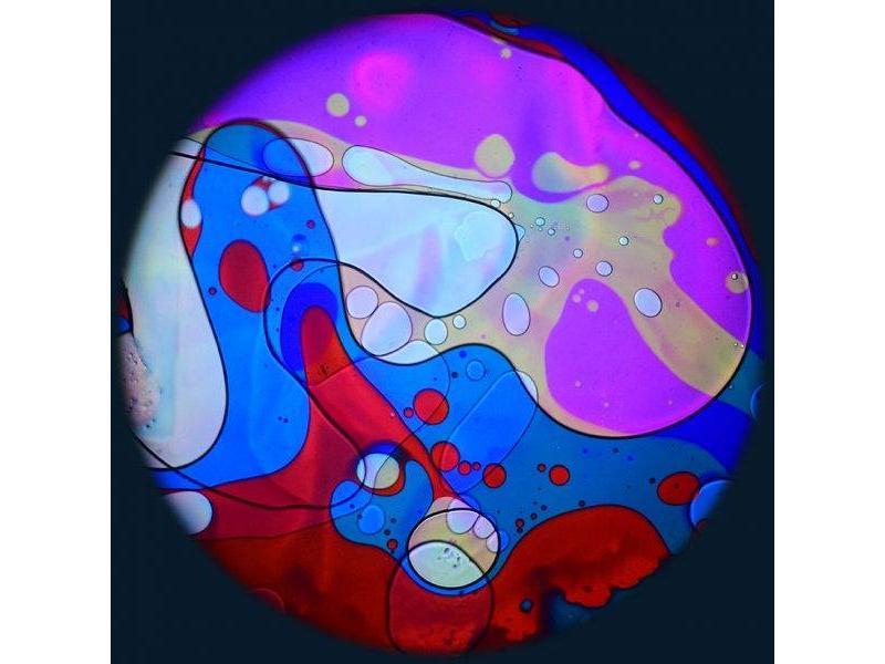 """OPTIkinetics 6"""" Effectwiel vloeistof voor Solar 100-250   roze/geel/blauw/rood"""