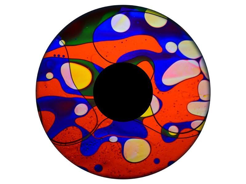"""OPTIkinetics Magnetisch 6"""" effectwiel vloeistof"""