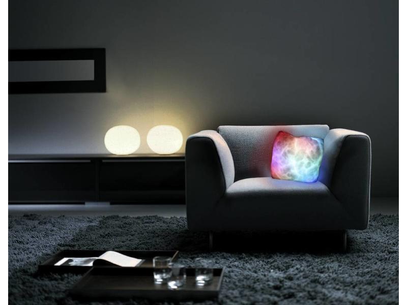 Maanlicht kussen met kleurwisseling LED