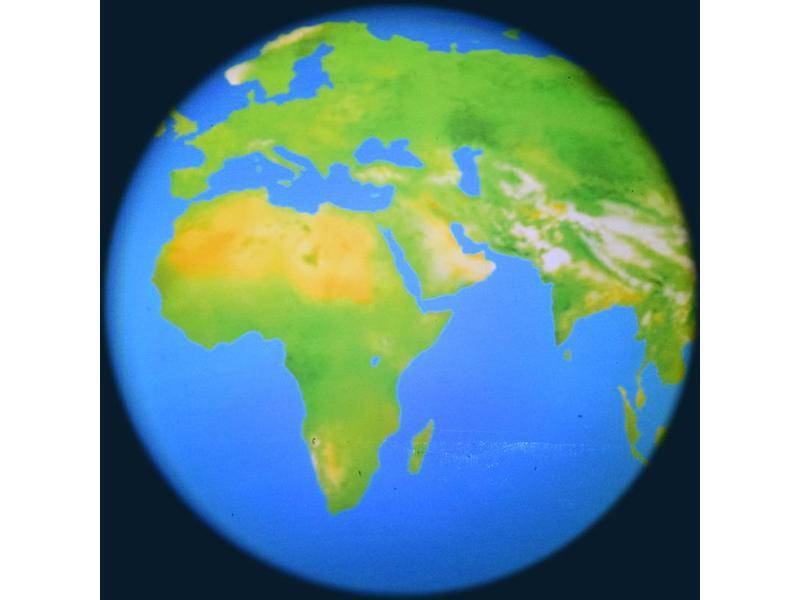 "OPTIkinetics Effectwiel 6"" thema: World"