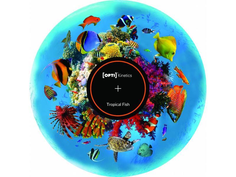 OPTIkinetics Magnetisch 6'' effectwiel thema: Tropical Fish