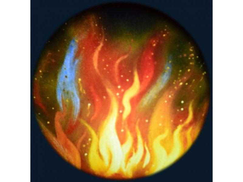 OPTIkinetics Effectwiel beeld Fire