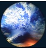 "OPTIkinetics Effectwiel beeld groot 9"" thema: Day and Night Sky"