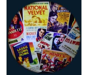 "6"" Effectwiel thema: 1930's -1940's Films"