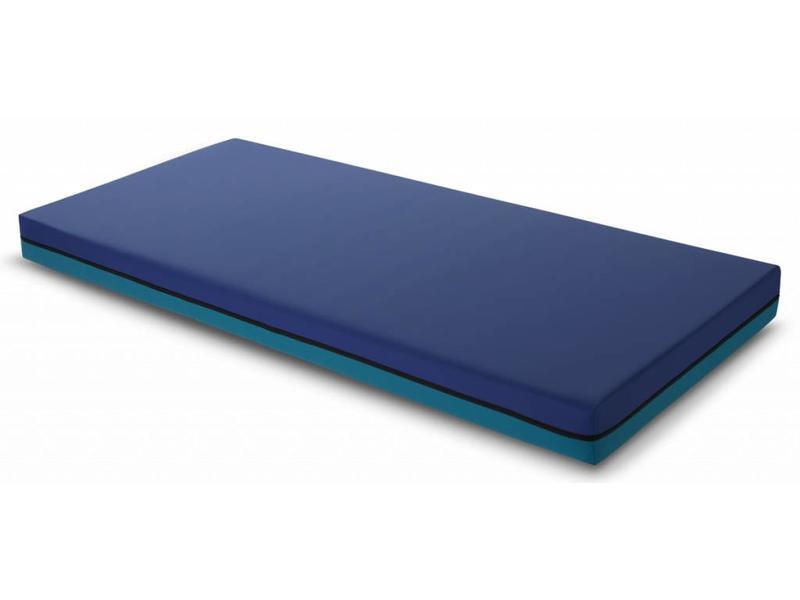 Deron Presstige Deluxe Care zorgmatras incl. IC-hoes blauw/gr - 19cm