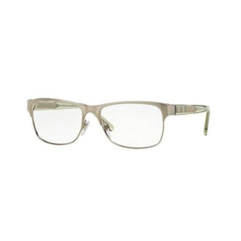 Burberry - BE 1289 1166 Silver/Transparent Green