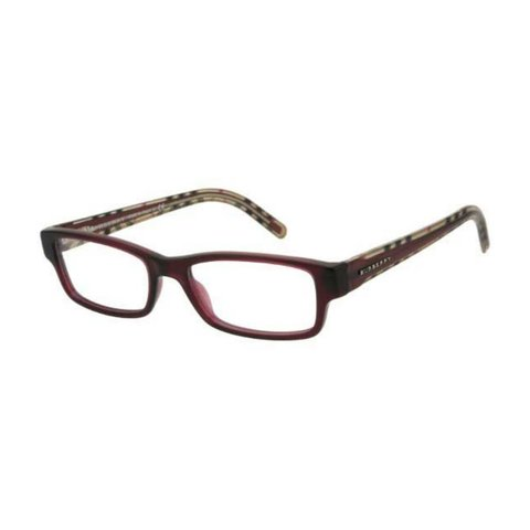 Burberry - BE 2066 3178 Burgundy Red/Brown Checkered