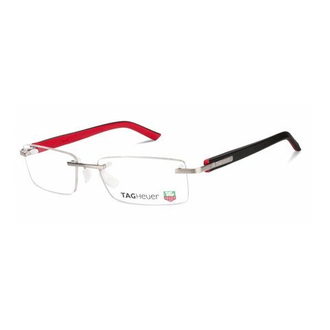 TAGHeuer - TH 8110 002 Black/Red/Silver Rimless
