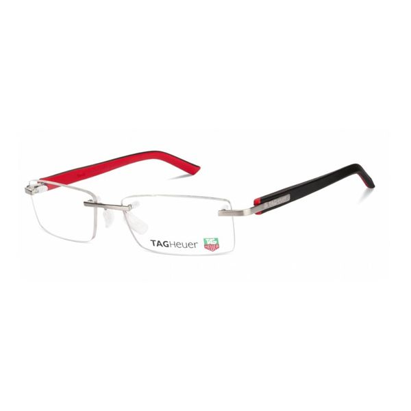TAGHeuer TAGHeuer - TH 8110 002 Black/Red/Silver Rimless