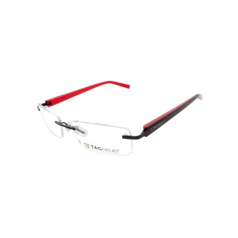 TAGHeuer - TH 8104 012 Rimless - Black/Red Interior