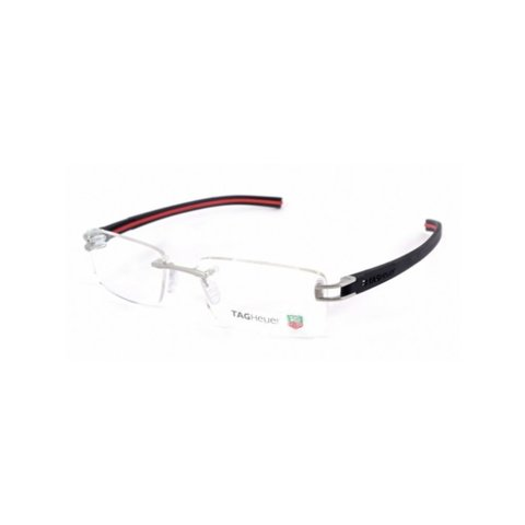 TAGHeuer - TH 7644 002 Rimless - Black/Red Interior