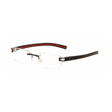 TAGHeuer - TH 7643 006 Rimless - Black/Red Interior