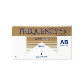 CooperVision Frequency 55 Aspheric 6er Box