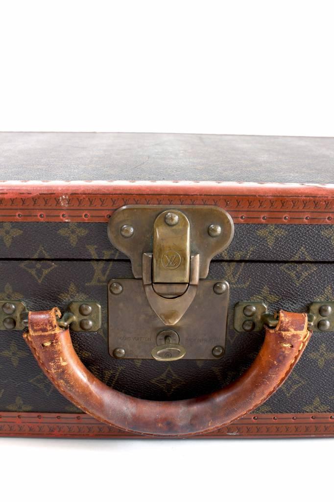 Originele vintage Louis Vuitton koffer monogram canvas