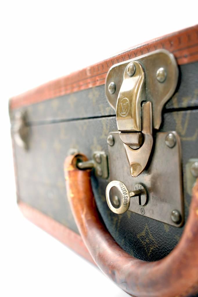 Louis Vuitton Originele vintage Louis Vuitton koffer monogram canvas