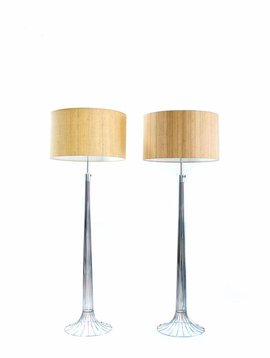 Couple floor lamps Verner Panton - Fritz Hansen