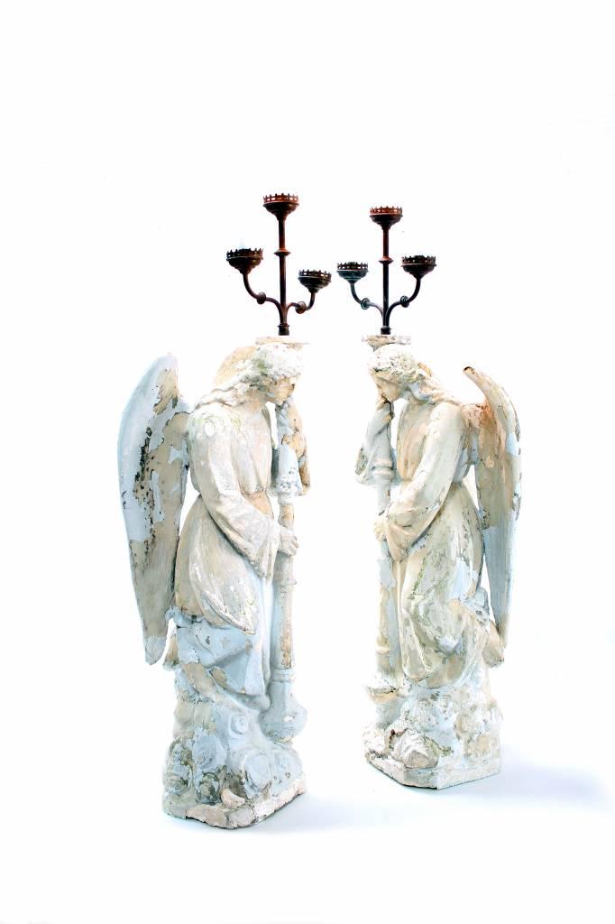 Engelen kandelaren circa 1920