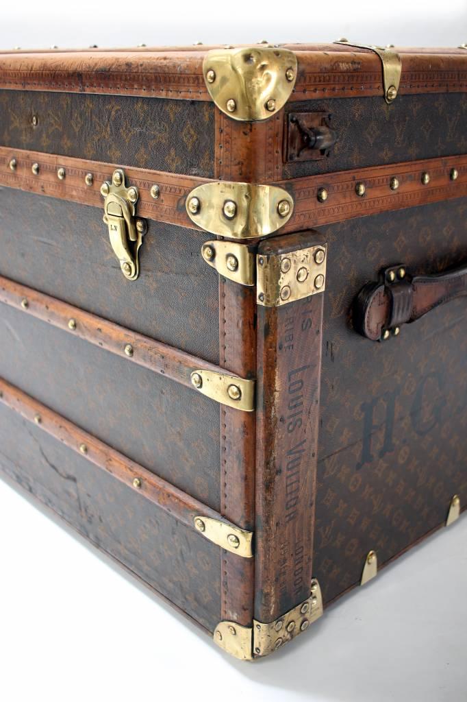 Louis Vuitton Oude Louis Vuitton reiskoffer 1920