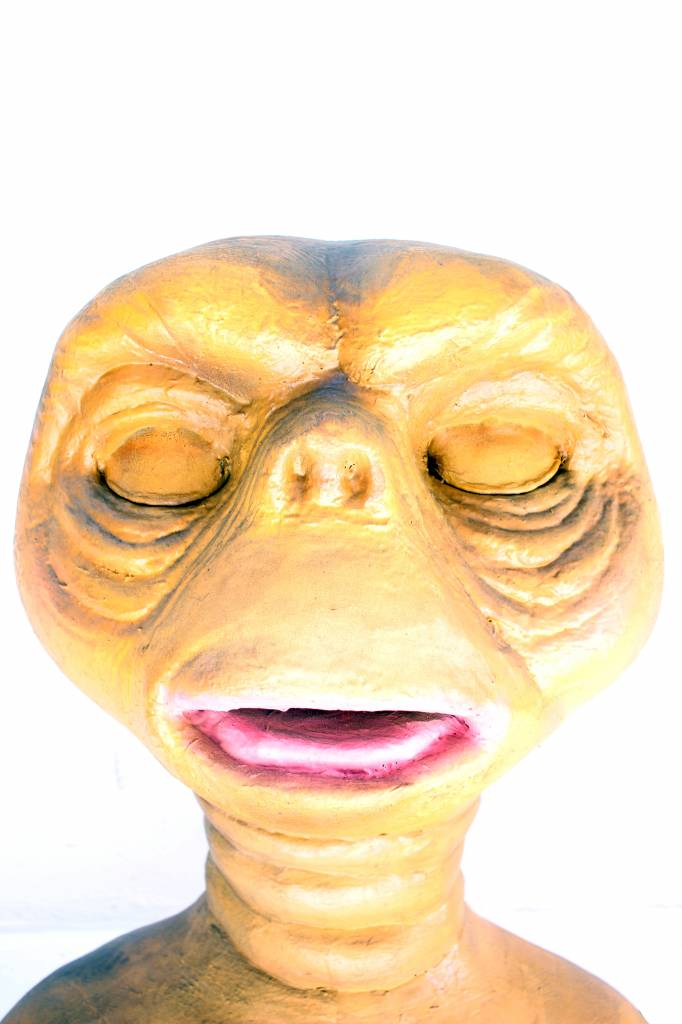 Zeldzame bewegende E.T