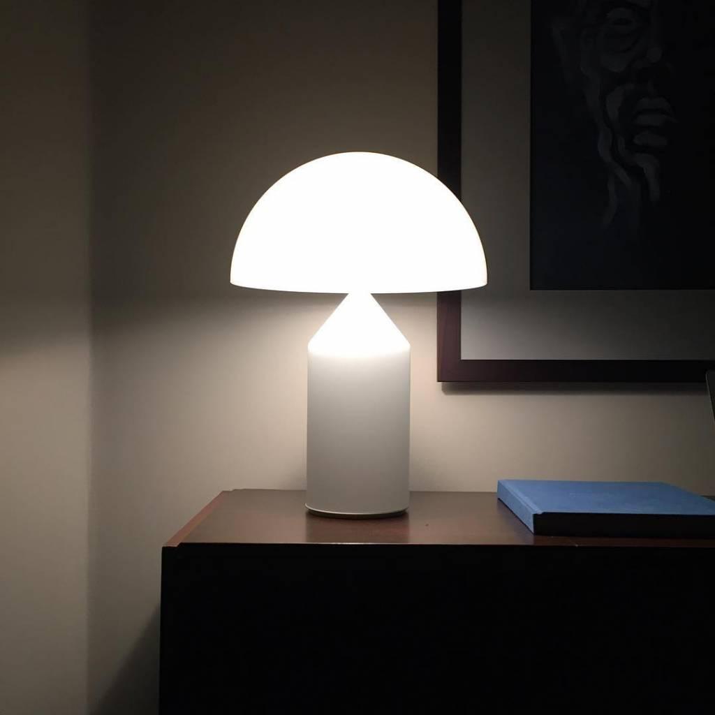Vintage Atollo lamp door Vico Magistretti
