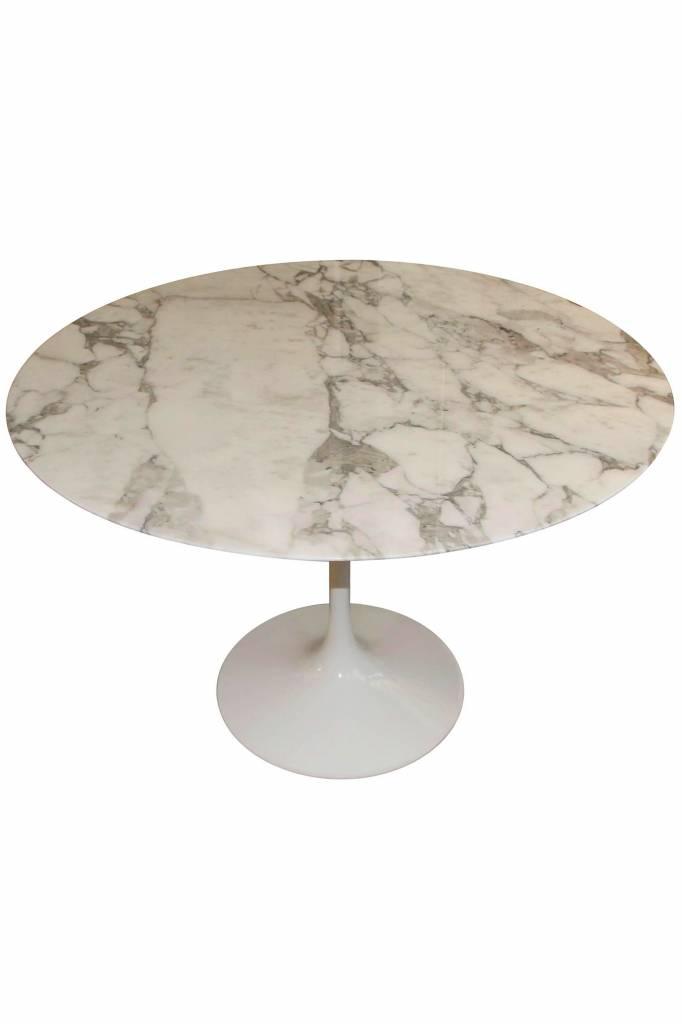 Marmeren Saarinen Knoll tafel 120cm