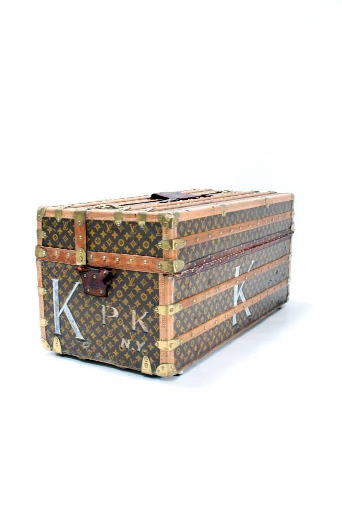 Grote oude Louis Vuitton reiskoffer