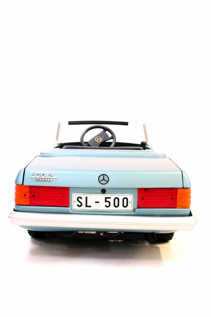 Mercedes 500SL mini met benzine motor