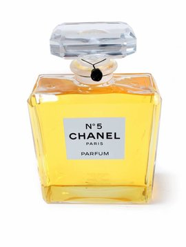 Giant original factice Chanel n°5
