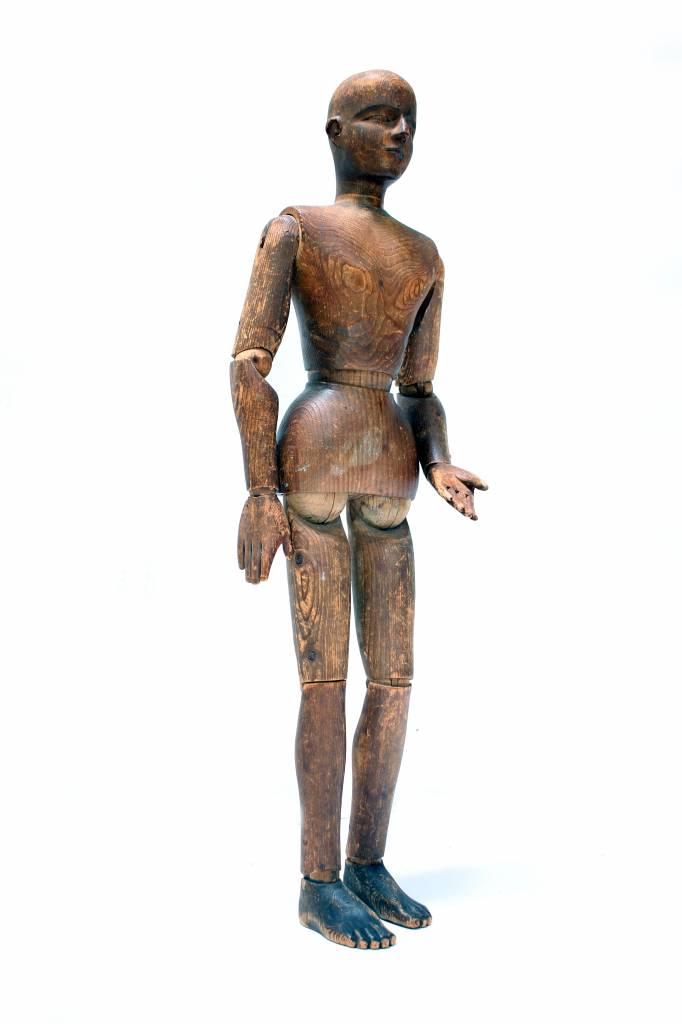 Antieke tekenpop