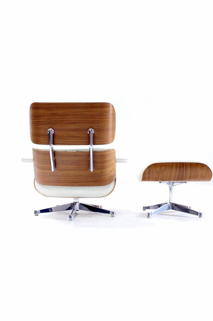 Charles Eames Lounge special chrome edition