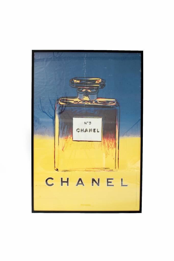 Andy Warhol XXL-poster voor Chanel 1997 Fine Art New York