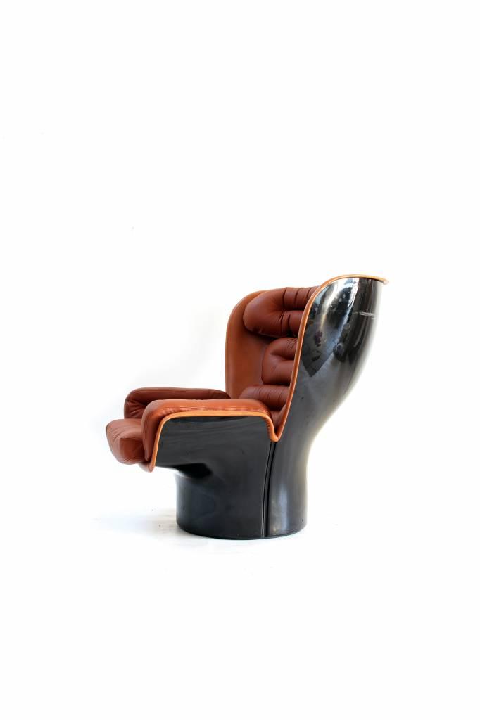 Vintage Elda chair by Joe Colombo 1963