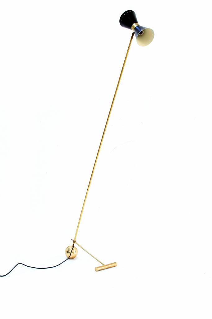 Italian floor lamp Stilnovo, 1950s