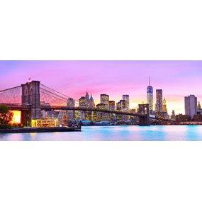 Zonsondergang in New York