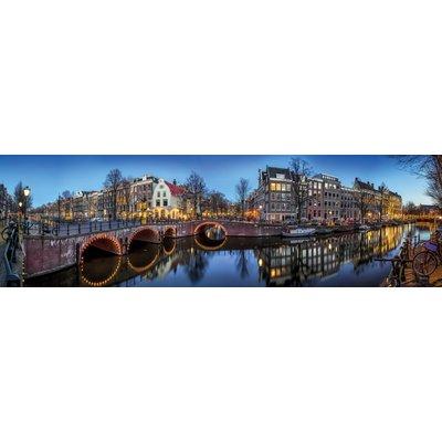 Aluminium wanddecoratie Amsterdamse Gracht