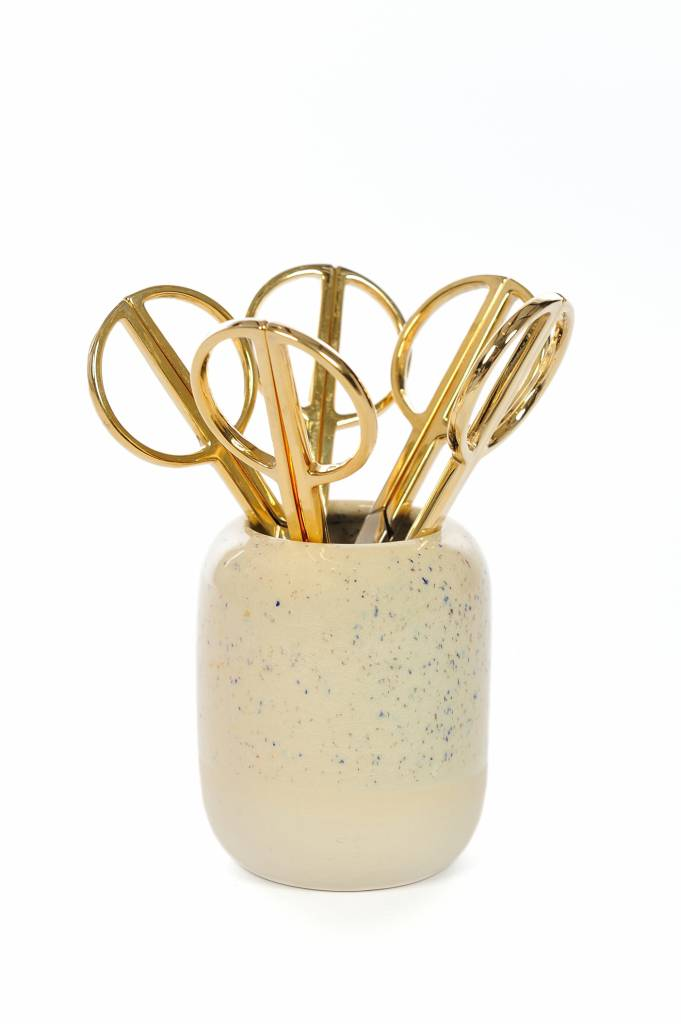Hay Hay phi scissors gold large