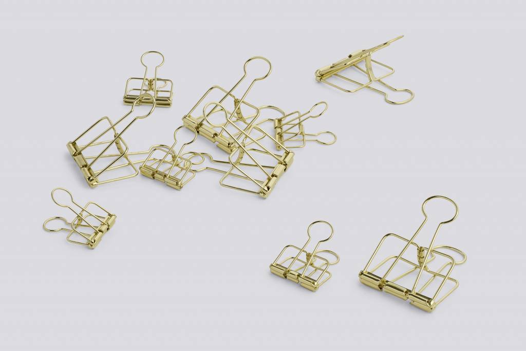 Hay Hay outline set of 10 gold