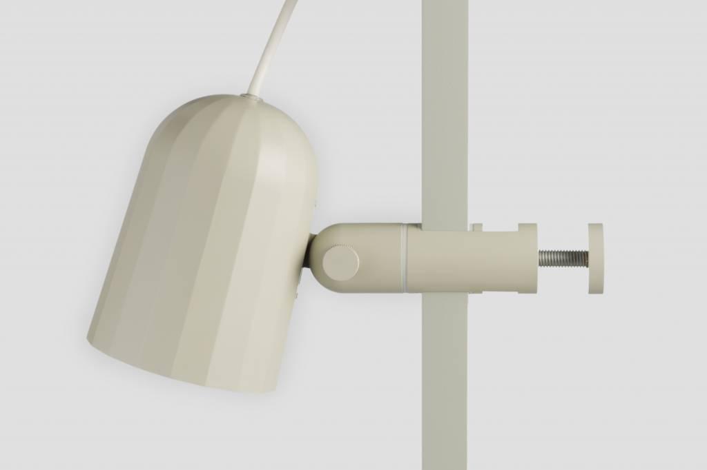 Hay noc clip lamp off white