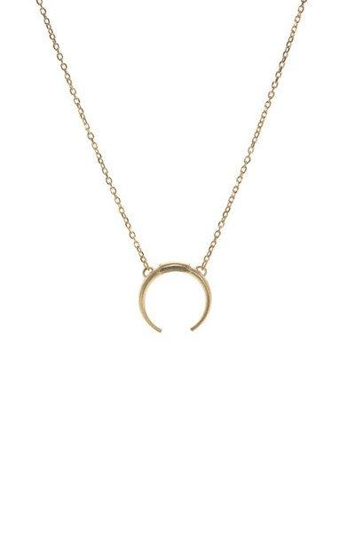 Maria Black Maria Black Tusk necklace gold