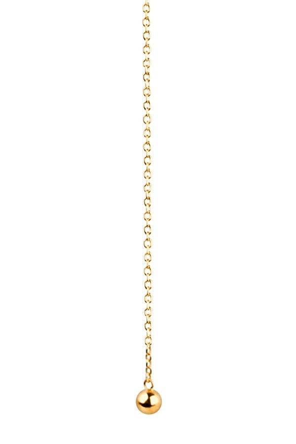 Maria Black Maria Black Helix necklace gold