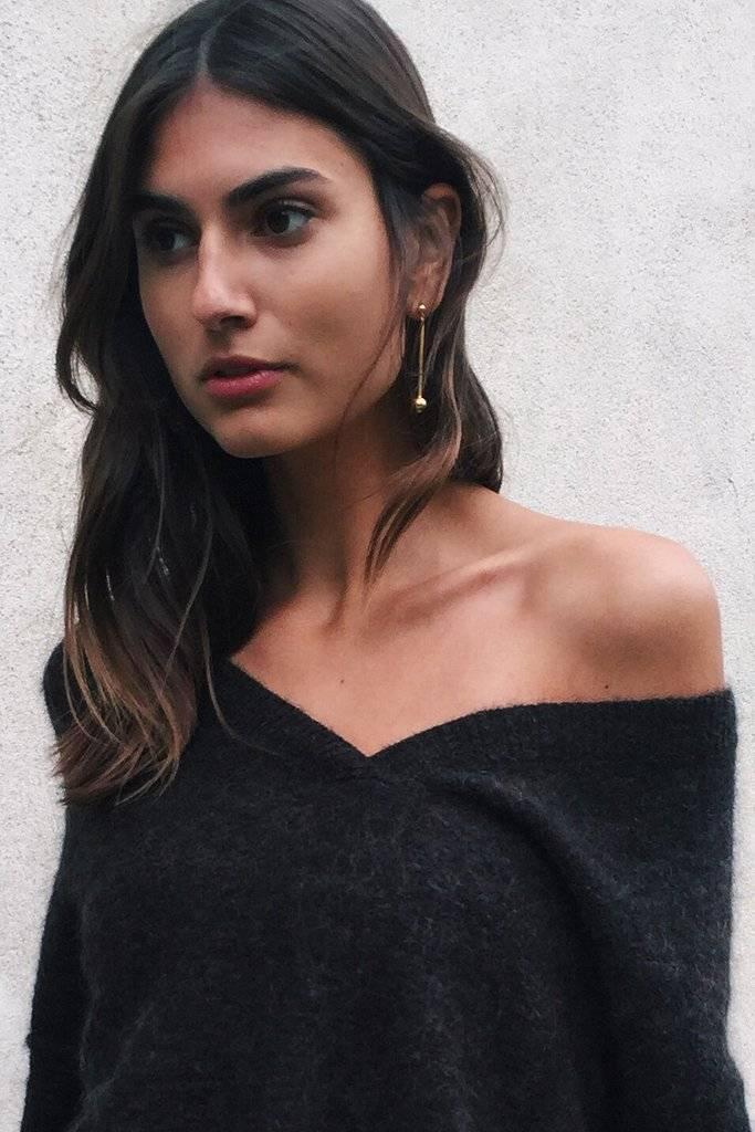 Maria Black Orbit earring silver