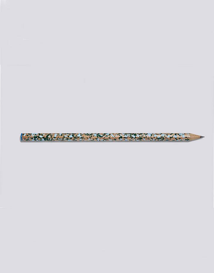 Hay Hay terrazzo pencil blue and green