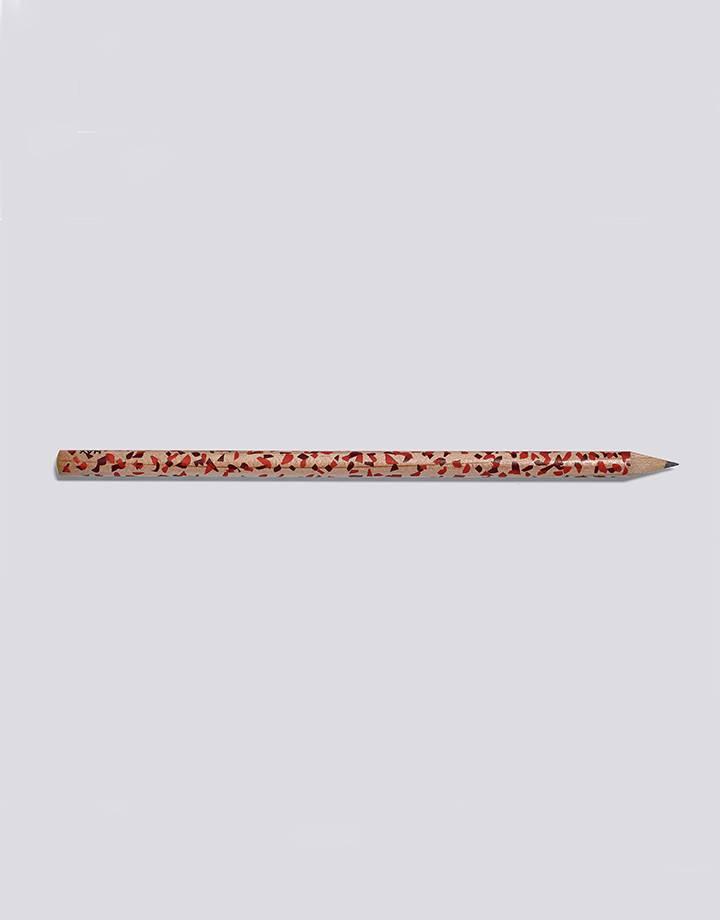 Hay Hay terrazzo pencil red