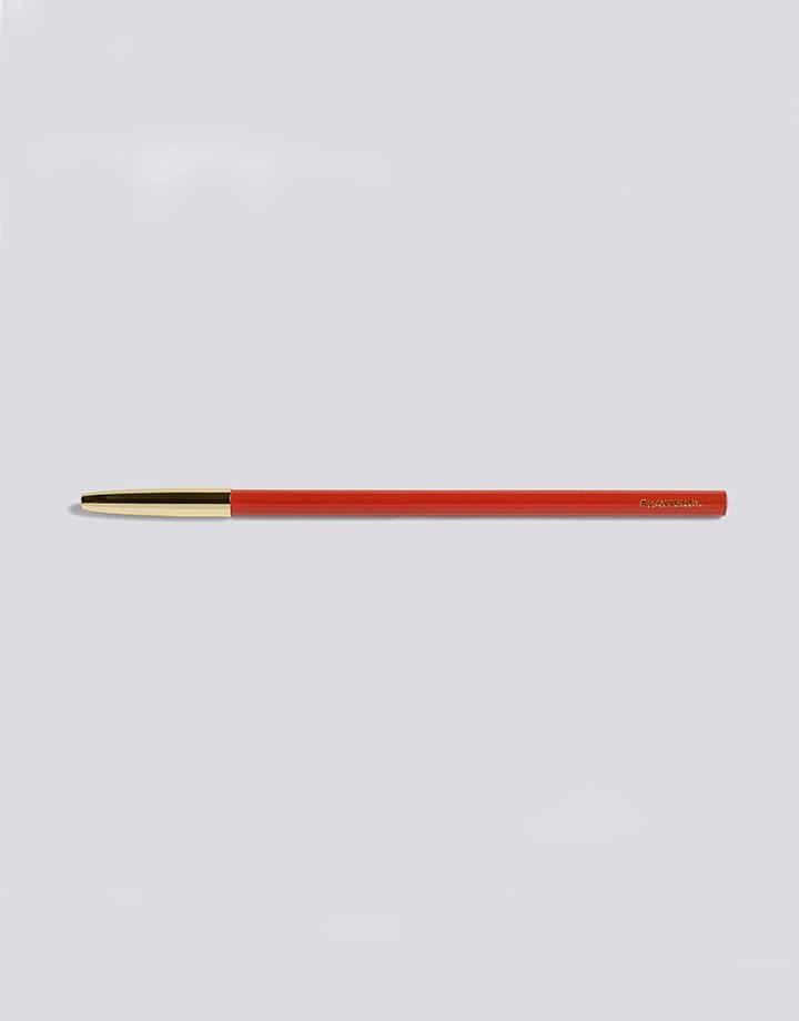 Hay Hay pencil red golden cap