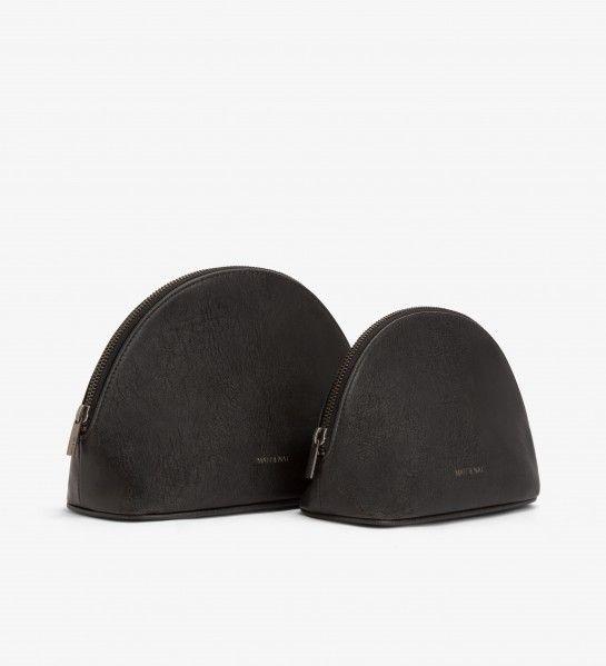 Matt & Nat Matt & Nat Duet Vintage pouch - Black