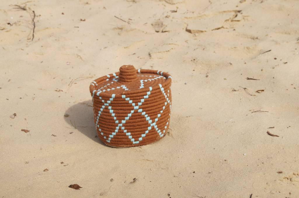 Hay Selected By HAY Marrocan Basket camel
