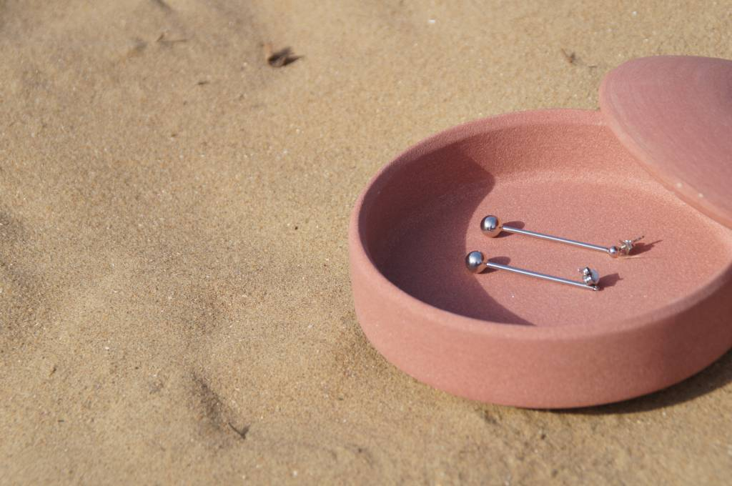 Maria Black Maria Black Orbit earring silver