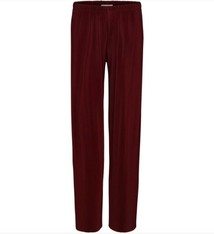Just Female Quint pant port red