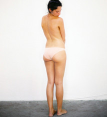 The Nude Label Brief Peach