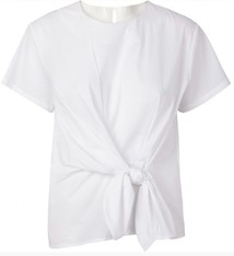 Just Female Ady blouse optical white